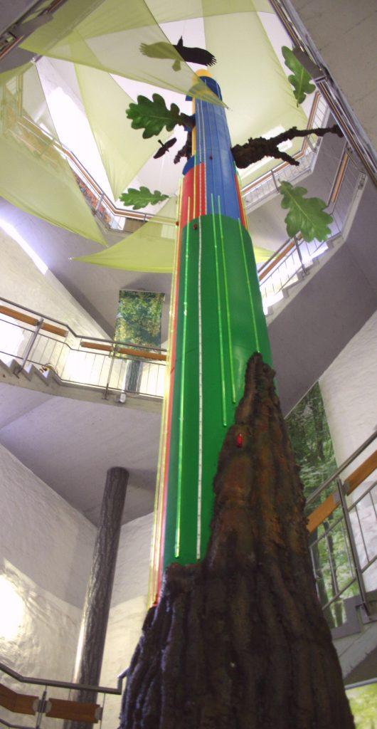 Bild von der Biomaschine Baum