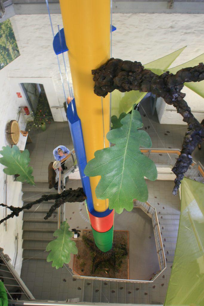 Foto der Biomaschine Baum